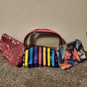 Victoria secret make up bag bundle